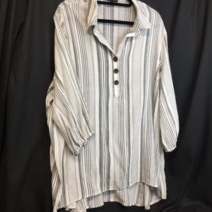 Fred David 3X Rayon Shirt
